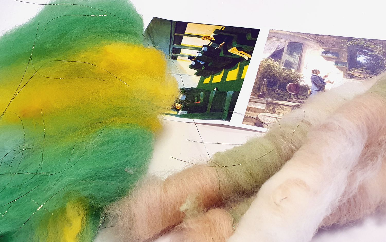 Workshop: Art Yarn Spinnen